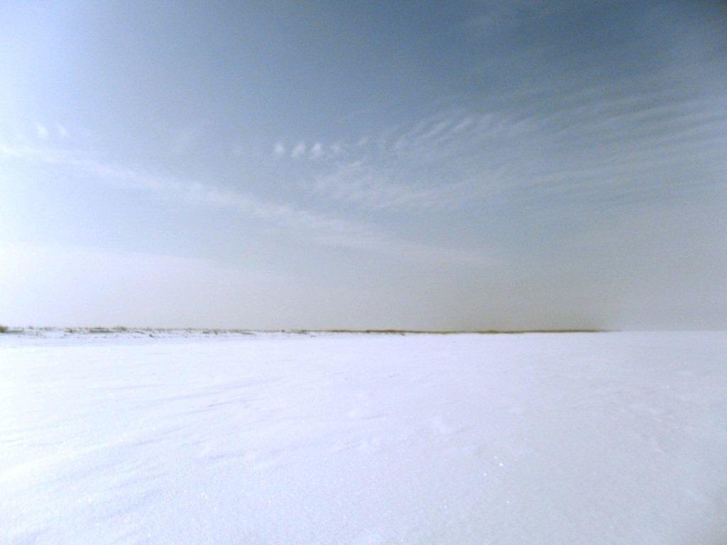 В снегах, путешествие, Ачуевская коса, Азовское море, февраль... 006. 002