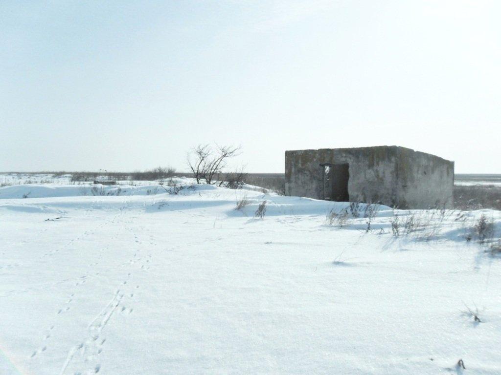 В снегах, путешествие, Ачуевская коса, Азовское море, февраль... 006. 005