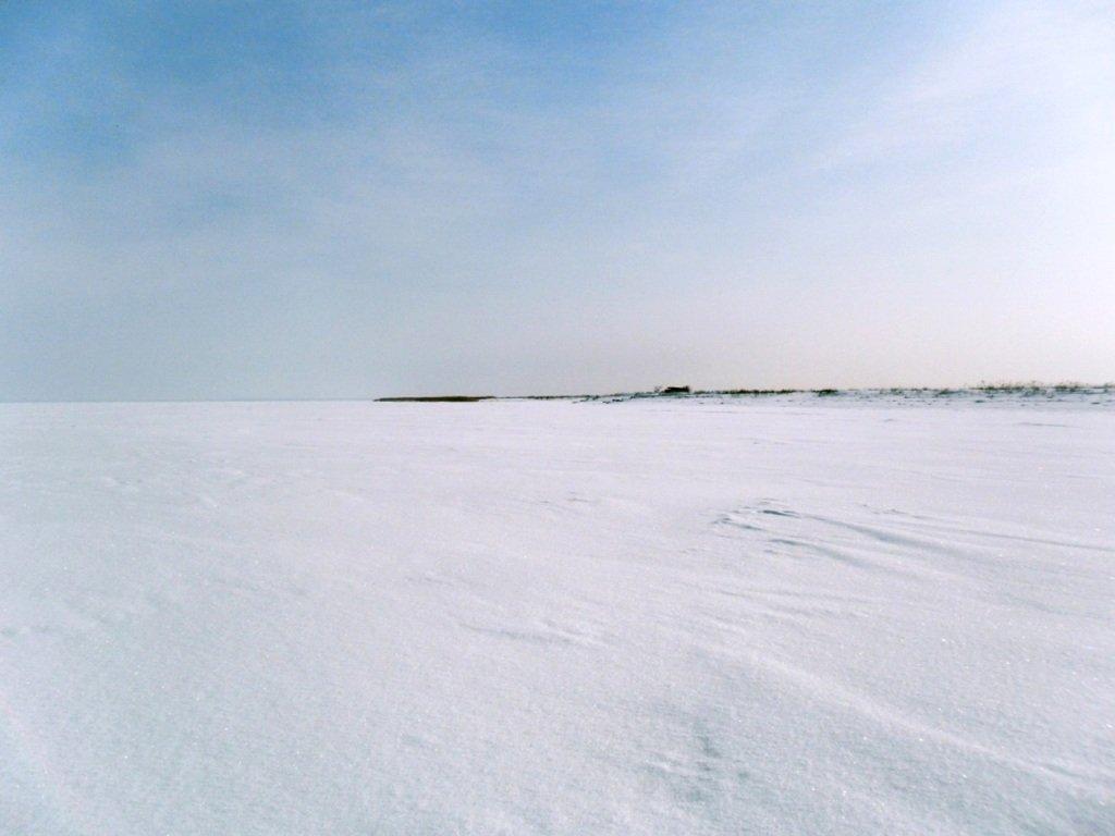 В снегах, путешествие, Ачуевская коса, Азовское море, февраль... 006. 001