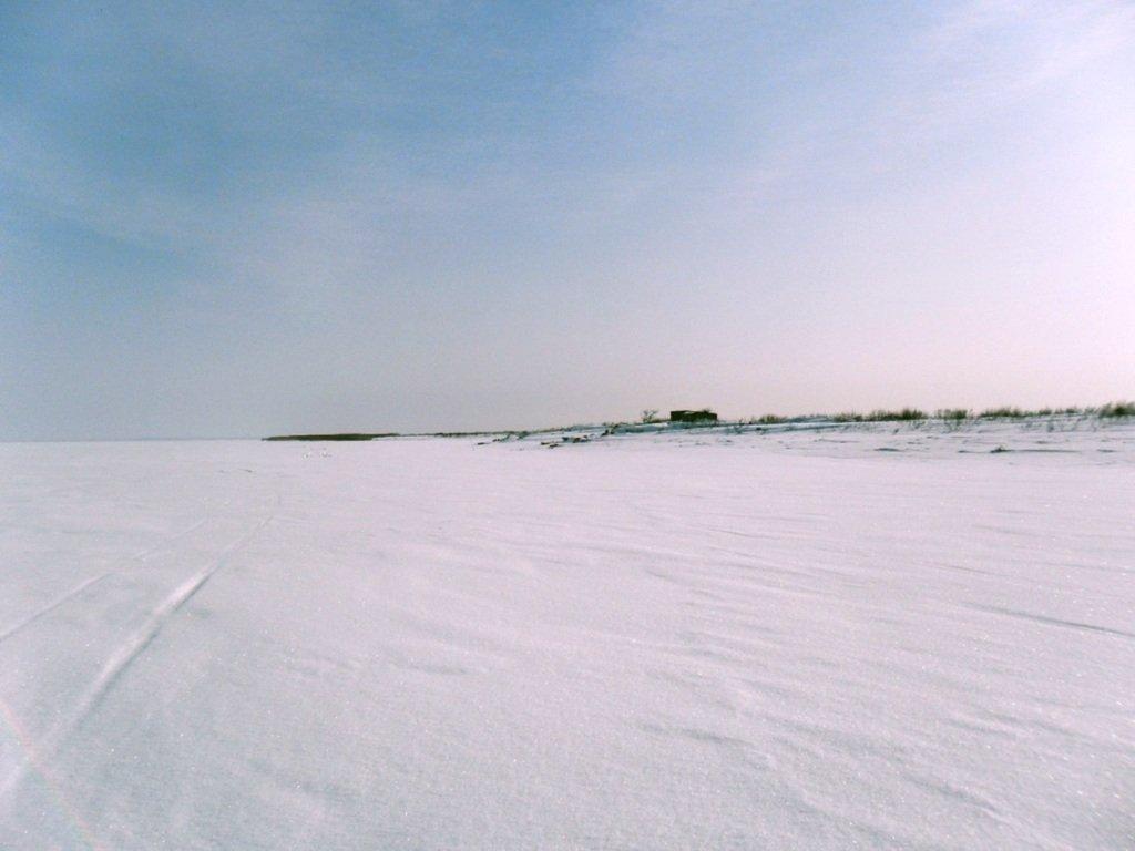В снегах, путешествие, Ачуевская коса, Азовское море, февраль... 006. 003