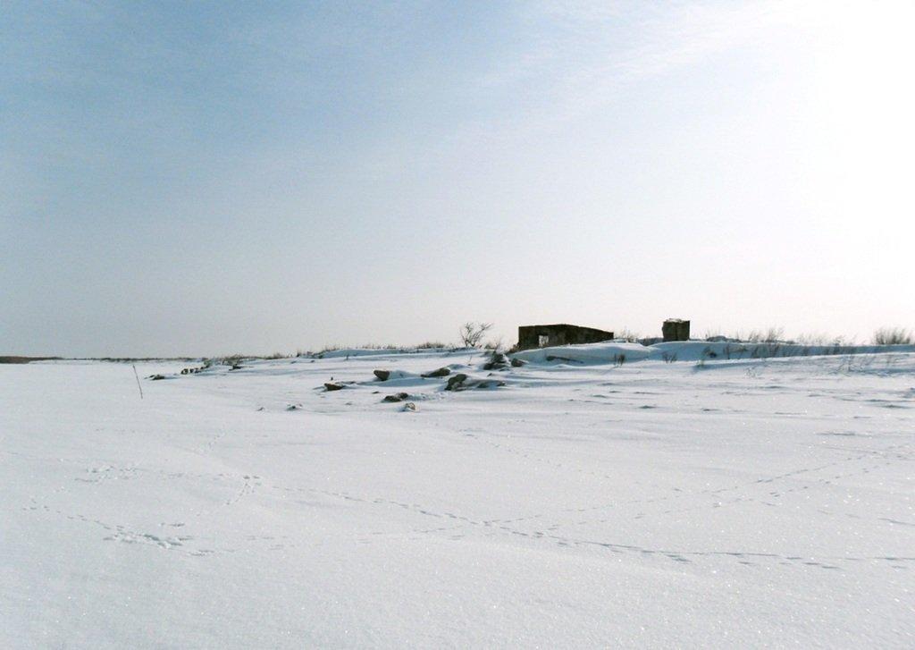 В снегах, путешествие, Ачуевская коса, Азовское море, февраль... 006. 004