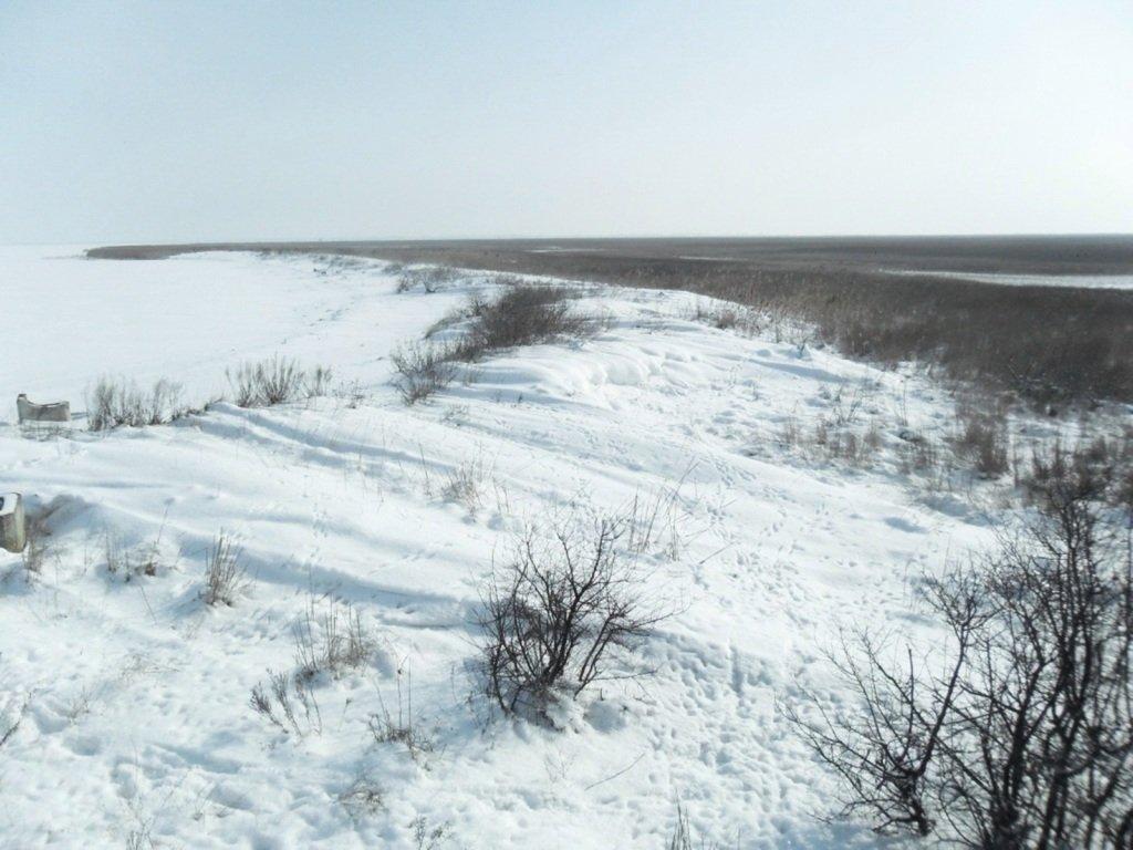 В снегах, путешествие, Ачуевская коса, Азовское море, февраль... 006. 011