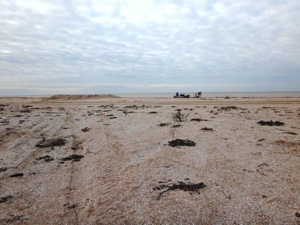 У моря Азовского, в походе, декабрь, ... и слоники... 002. 003