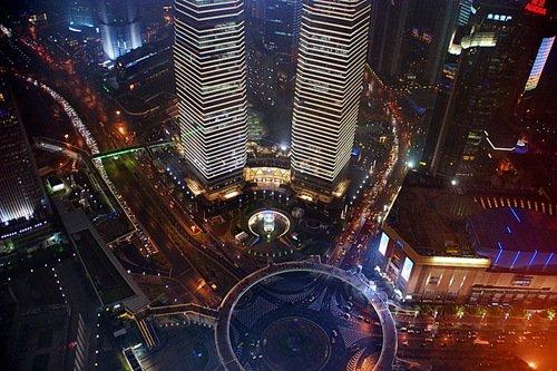 Шанхай. Площадь Луцзяцзуй.