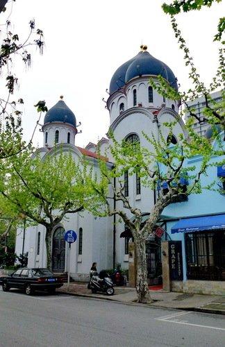 Церковь Иконы Божией Матери Споручница Грешных в Шанхае