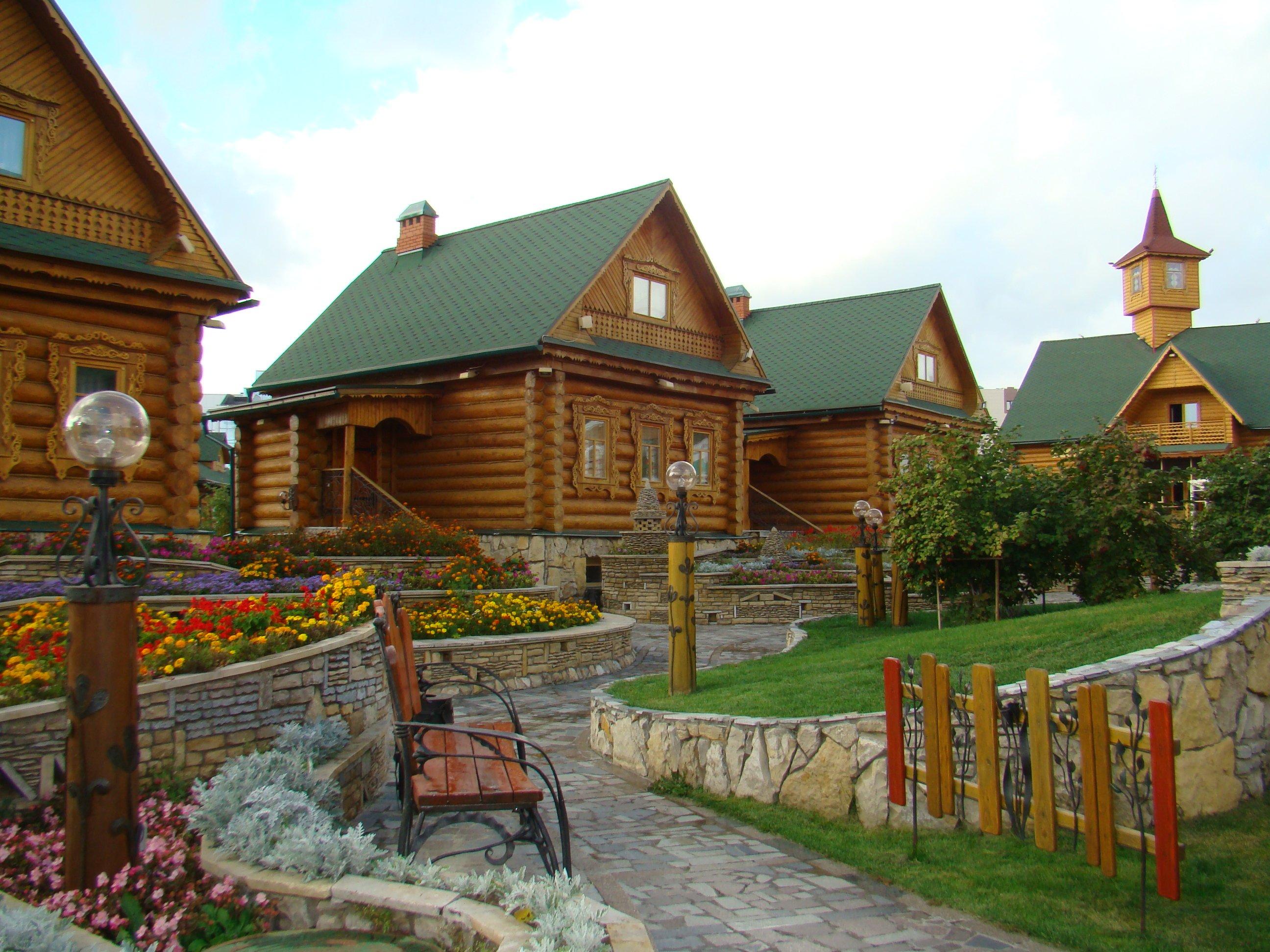 Татарские деревни фото
