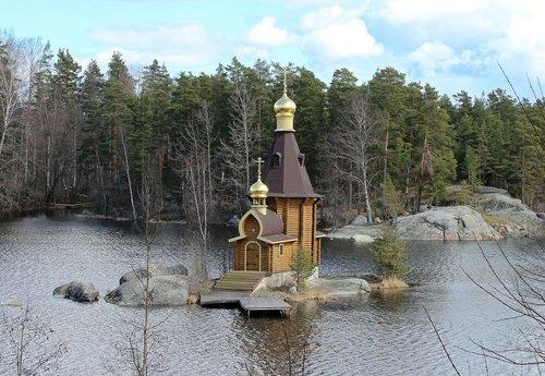 Церковь Андрея Первозванного на Вуоксе.