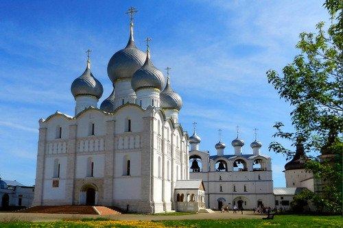 Успенский собор, звонница( Ростов-Великий)