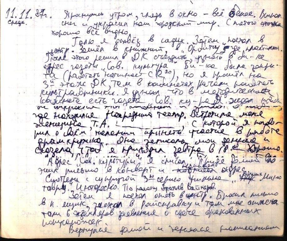 Воспоминания о театре. Начало Записи дневниковые 5 009.jpg