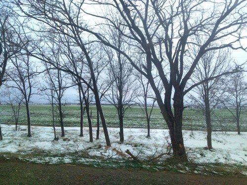 Зима пришла в Крым.