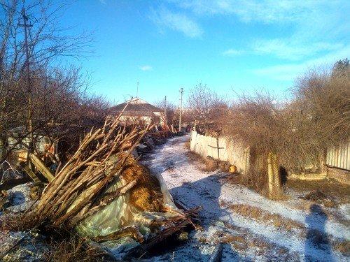 Зима на задворках Крыма.
