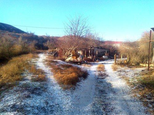 Зима в Крыму.