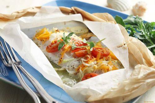 Рыба с овощами. ВКУСНО И ПОЛЕЗНО.
