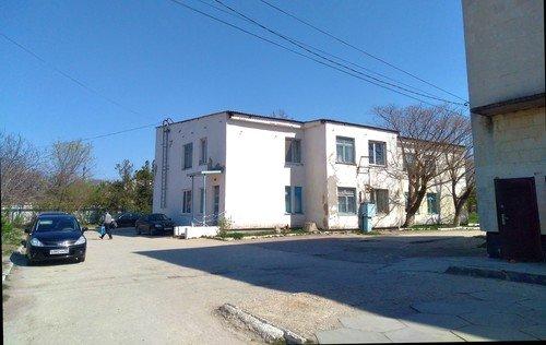 Сельская поликлиника.