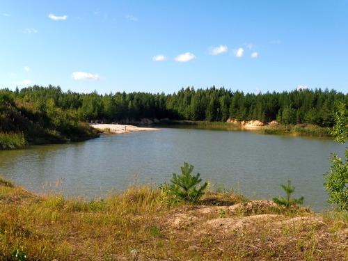 Озеро и лето