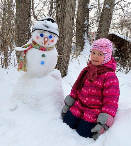 Два снеговичка