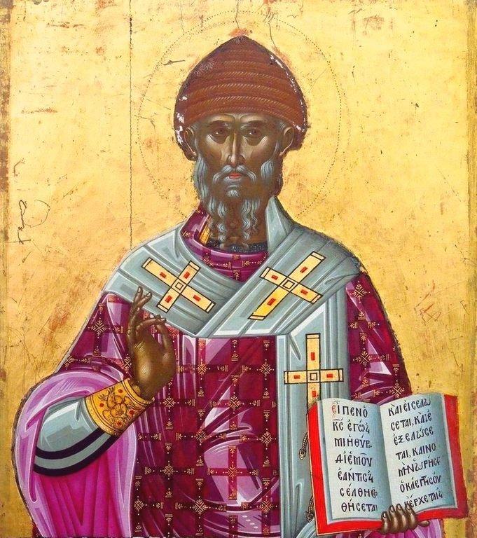 Святитель Спиридон, Епископ Тримифунтский, Чудотворец.