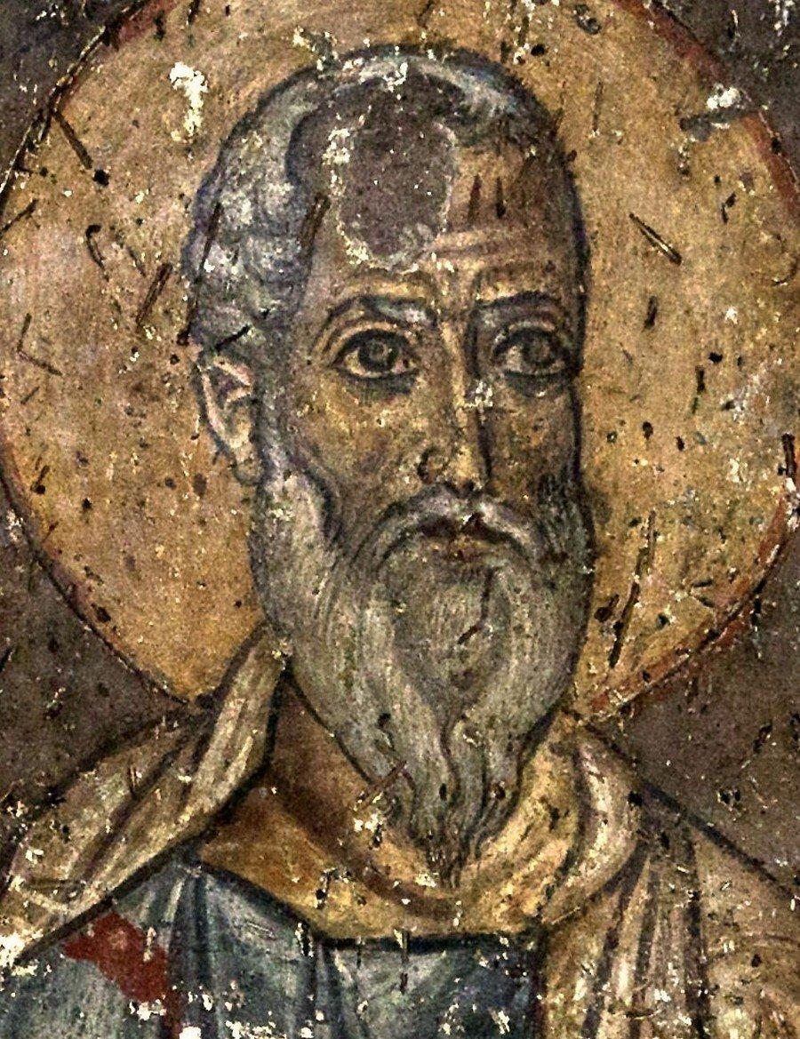Страшный Суд. Фреска церкви Панагии Халкеон в Салониках, Греция. Около 1028 года. Фрагмент.