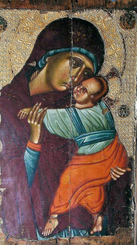 Богоматерь Елеуса. Кипрская икона.