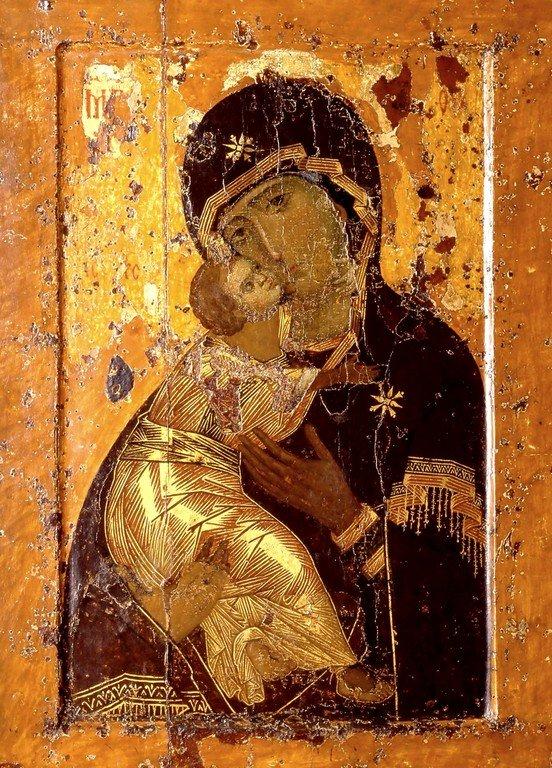 Чудотворная Владимирская икона Божией Матери.