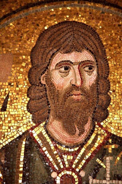 Святой Мученик Пров. Мозаика монастыря Дафни близ Афин, Греция. XI век.