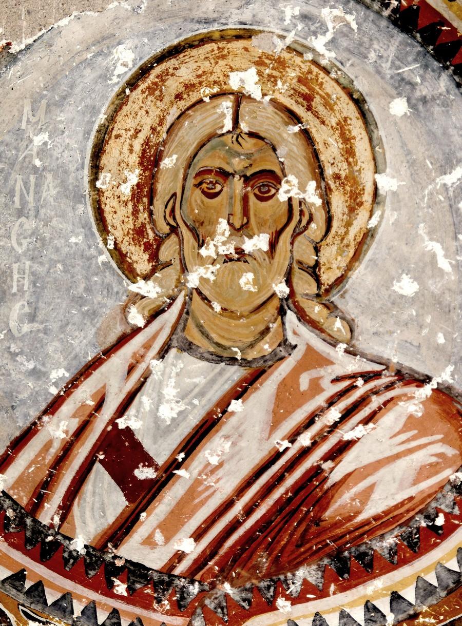 Праотец Манассия. Византийская фреска в церкви Святого Феодора, Тагар, Каппадокия.
