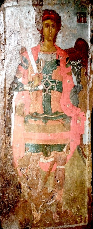 Архистратиг Михаил. Византийская икона XIV века. Национальный музей средневекового искусства в городе Корча, Албания.