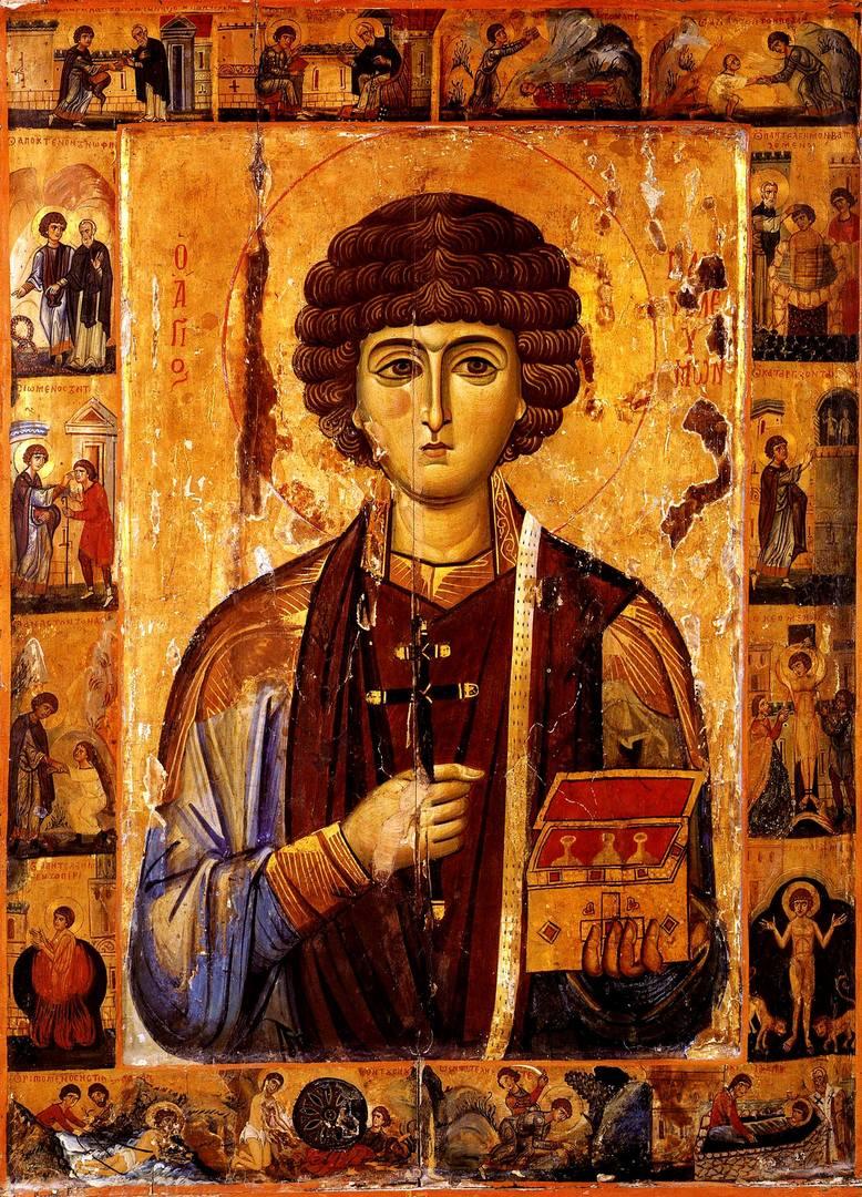 12 апреля - память святой Еввулы Никомидийской