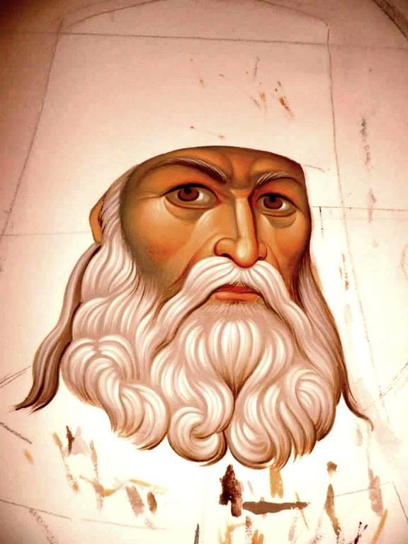 Святитель Лука (Войно-Ясенецкий), Архиепископ Симферопольский и Крымский, Исповедник. Эскиз.