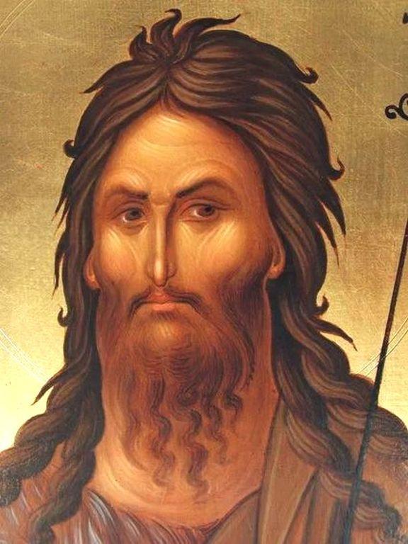 Святой Иоанн Предтеча. Иконописец Малин Димов (Болгария).