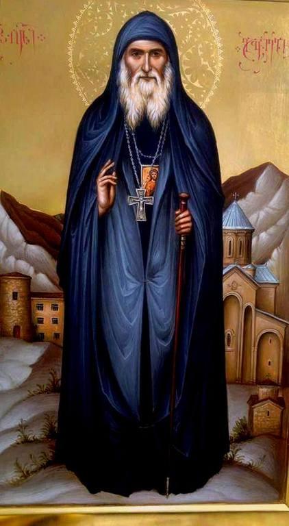 Святой Преподобноисповедник Гавриил (Ургебадзе), Христа ради юродивый.