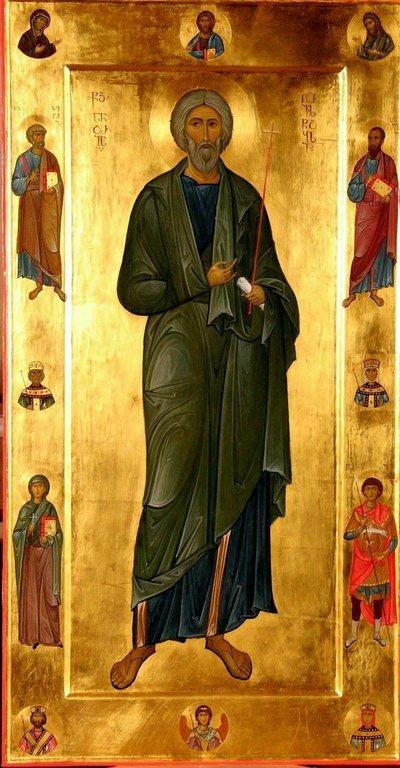 Святой Апостол Андрей Первозванный. Иконописец Георгий Гошадзе.