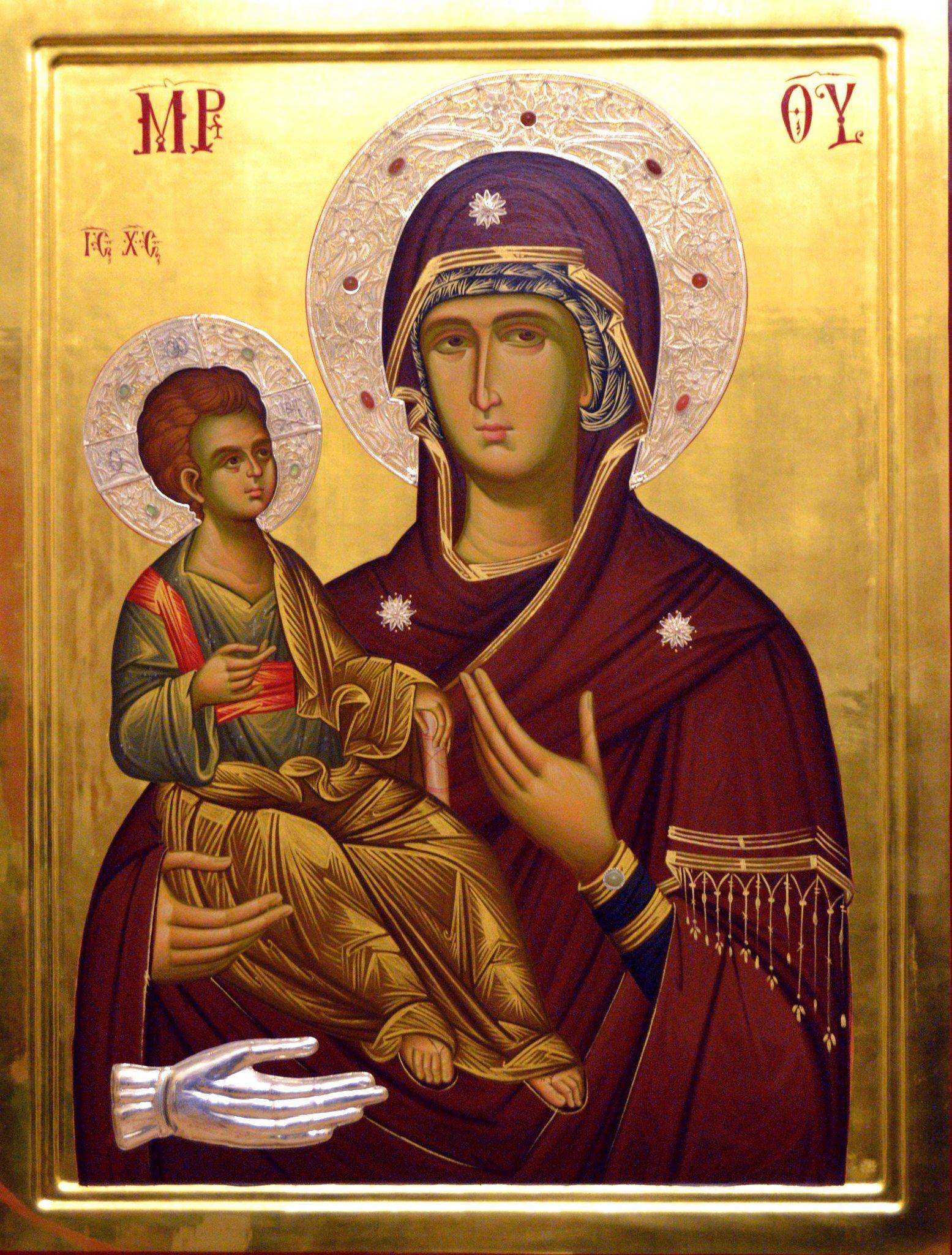канонические иконы богородицы фото концы колечек