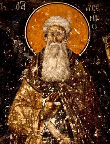 21 мая - день памяти Святого Преподобного Арсения Великого.