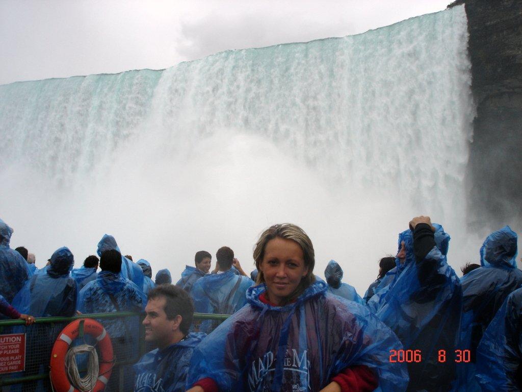 Под вечным дождём Ниагарского водопада