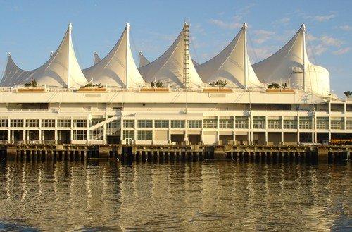 Канада. Морской порт Ванкувера.