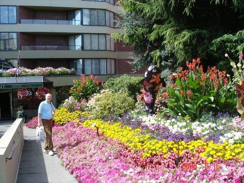 Город Виктория в Канаде. Цветочное пиршество.
