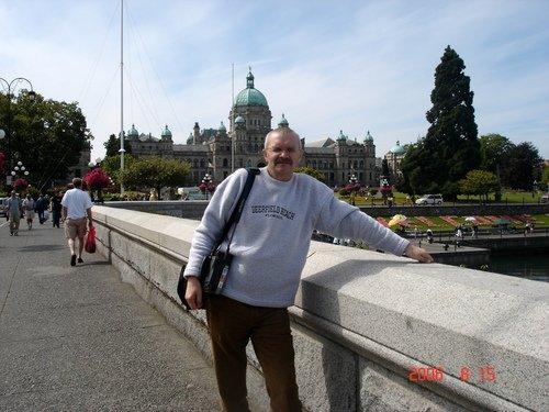 В порту канадского города Виктория на острове Ванкувер