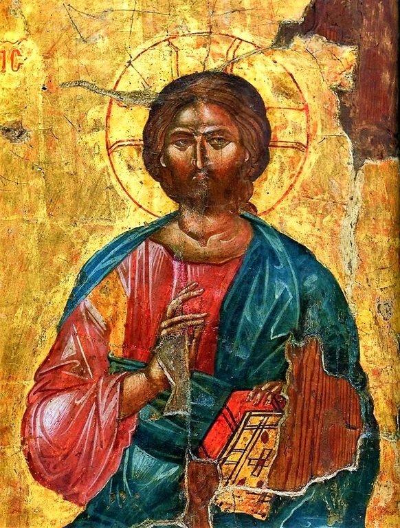 Христос Пантократор. Кипрская икона.