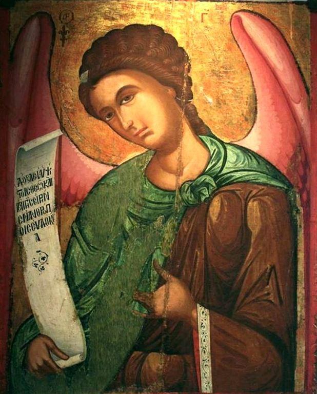 Архангел Гавриил. Кипрская икона.