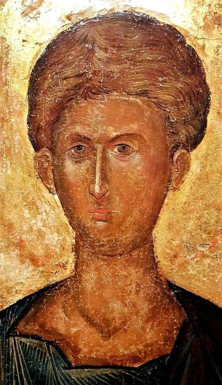 Святой Апостол Фома. Греческая икона. Лик.