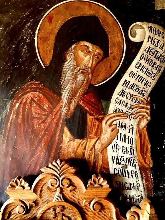 Святой Преподобный Косма, Епископ Маиумский, творец канонов.