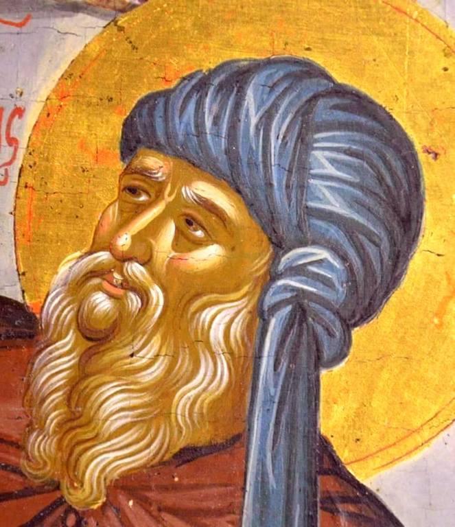 Святой Преподобный Иоанн Дамаскин. Иконописец Михаил Дамаскин. Крит, 1585 - 1591 годы.