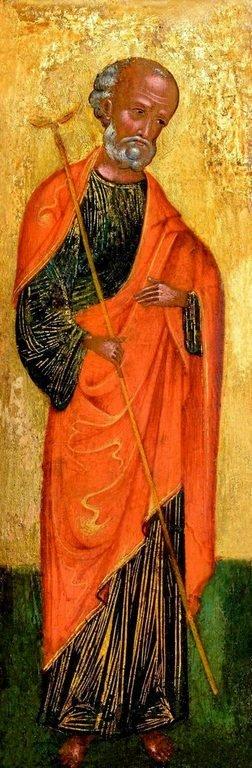 Святой Праведный Иосиф Обручник. Икона. Венето-критская школа, около 1500 года.
