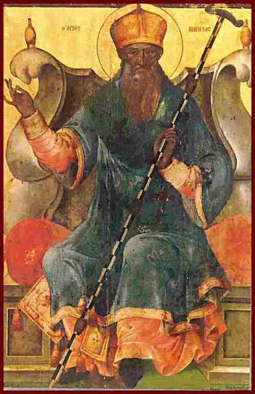 Святой Преподобный Никита Исповедник, Митрополит Халкидонский.