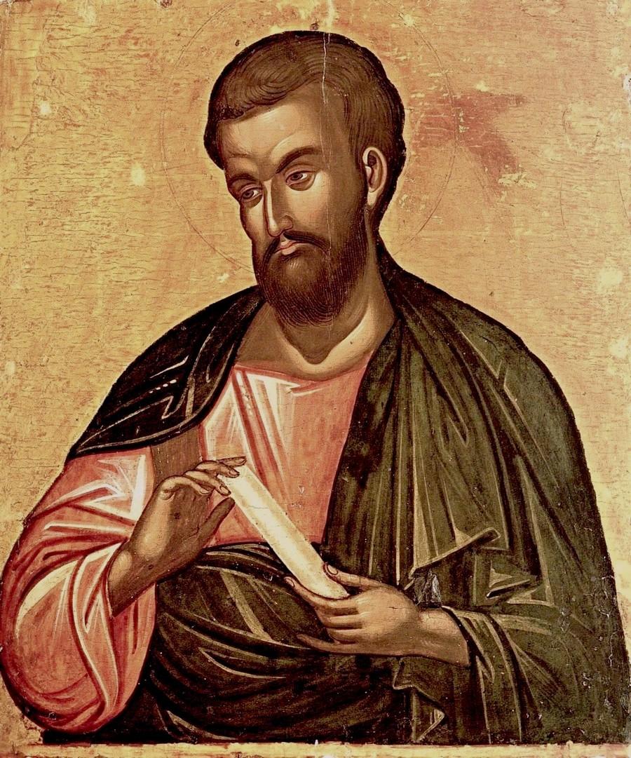 Святой Апостол Варфоломей. Греческая икона XVI века.