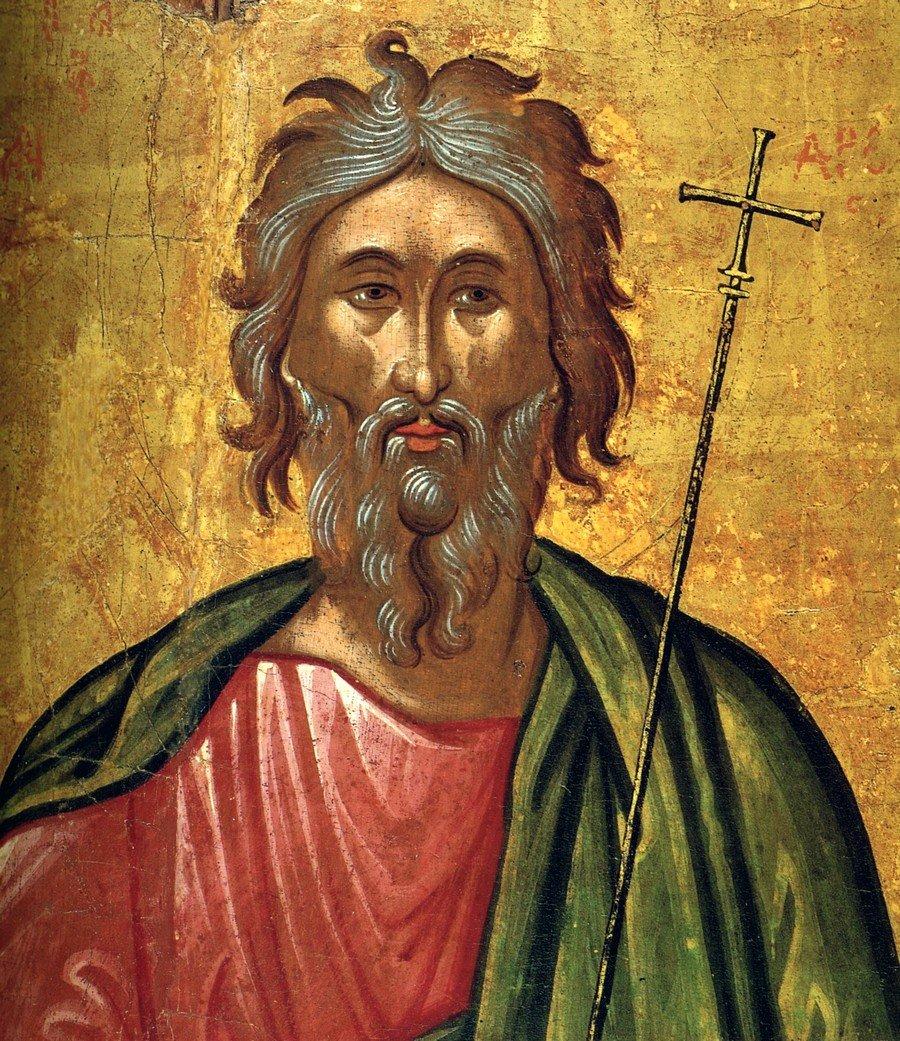 Святой Апостол Андрей Первозванный. Икона. Крит, около 1570 года.