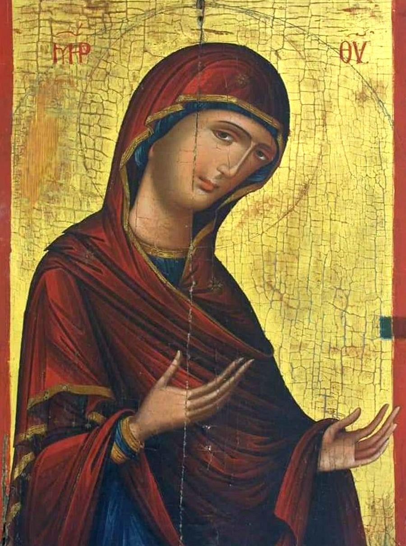 Богоматерь Агиосоритисса. Кипрская икона.