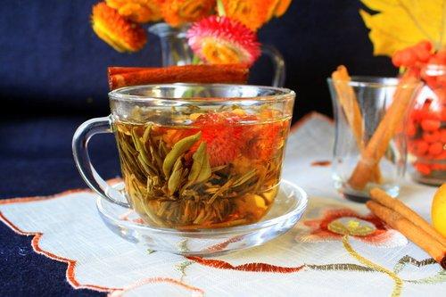 Чай-цветок!