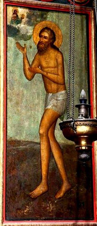 Святой Блаженный Василий, Христа ради юродивый, Московский Чудотворец.